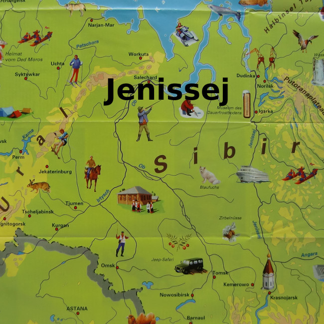 jenissej-flussreise-map