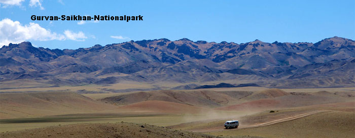 Nationalpark-Mongolei